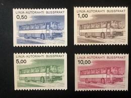 1981 Auto-Paketmarken Mi.-Nr. 14-17 **)