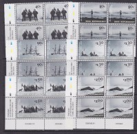 Ross Dependency 2002 The Discovery Expedition 6v  Bl Of 4 (corners)** Mnh (32176) - Ross Dependency (Nieuw-Zeeland)