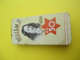 Boite Métallique/ 10 Cigarillos/ Willem II/ N° 30 / Sigarenfabrieken/Valkenswaard/Hollande//Vers 1960-1970   BFPP84 - Boxes