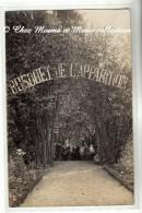PARAY LE MONIAL - MONASTERE COUVENT DE LA VISITATION - BOSQUET DE L APPARITION - SAONE ET LOIRE - CARTE PHOTO - Paray Le Monial