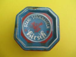 Boite Métallique/ 50 Grammes D'aiguilles N°6/Stahl-Stecknadeln/HIRSCH//Vers 1950-1960   BFPP86 - Boxes