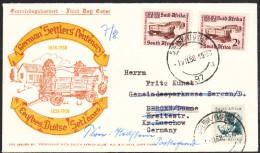 AFRIQUE DU SUD Lettre De CAPE TOWN 1958 à Destination Allemagne - Afrique Du Sud (1961-...)
