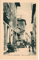 7533. CPA 38 SAINT-ANTOINE. RUE DES LYONS. ANNEES 30 - France