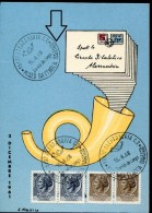 13104 Italia, Special Card And Postmark Alessandria, Museo Battaglia Marengo, Napoleon, Bataille De Marengo 1968 - Napoleon