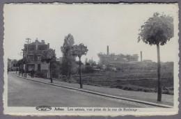 ATHUS LES USINES VUE PRISE DE LA RUE DE RODANGE          D107 - Aubange
