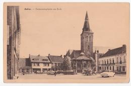 Aalter: Gemeenteplaats En Kerk. - Aalter