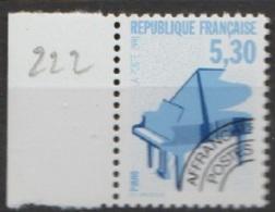 France Préoblitérés 1992 N°  222 Nn Instrument De Musique   (A19) - 1989-....