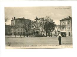 CP -  Saint Didier La Seauve(43) La Place Du Foirail Et La Croix De La Mission - France