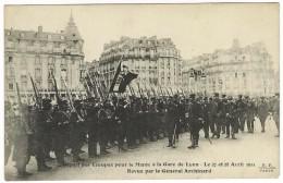 Départ Des Troupes Pour Le Maroc à La Gare De Lyon - Paris Le 27 Et 28 Avril 1911 - Revue Par Le Général Archinard. - District 12