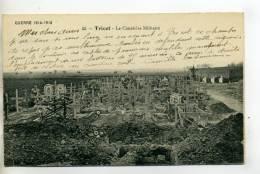 60 TRICOT Le Cimetiere Militaire Tombes Neuves Et En Cours De Creusement 1918    /D10-2015 - Frankrijk
