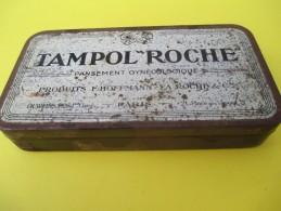 Boite Métallique/ Produit Pharm./Tampol Roche/Pansement Gynécologique/Weis/Place Des Vosges/Paris/Vers 1920-30   BFPP90 - Boîtes