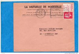 Lettre Commerciale Ayant Voyagé En 1970-flamme -MARSEILLE-salon De L´automobile-cycle Et Moto -OCT 1970- - Poststempel (Briefe)