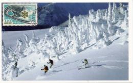 INNSBRUCK 1976, Belle Carte-maximum D'Andorre - Winter 1976: Innsbruck