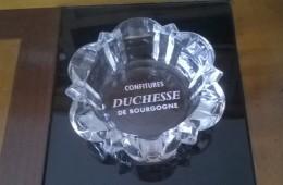 Cendrier - Confitures DUCHESSE De Bourgogne - En Superbe état - - Verre