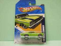PLYMOUTH ROAD RUNNER ´70 - Muscle Mania - Mopar 2012 - HOTWHEELS Hot Wheels Mattel 1/64 US Blister - HotWheels
