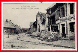 02 - FRESNOY Le GRAND -- Rue Gambetta - Andere Gemeenten