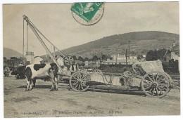 En LORRAINE - Un Attelage, Transport Du Granit. ND N° 246. Industrie Artisanat. - Lorraine