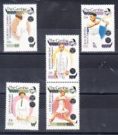 Timbres Neufs -thème  Tennis De 1989 Et 1990- N°Yvert 862-866-882-888 -921 - Gambie (1965-...)