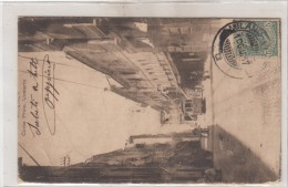 Vicenza-corso Principe Umberto-tram -veduta-1900 - Vicenza
