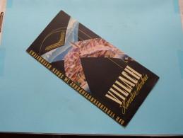 VILLACH  ( AUSTRIA ) Brochure Edition 1958 ( Zie Foto´s ) ! - Dépliants Touristiques