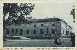 Pays Div -italie -italy- Italia - Ref G188- Saluti Da Mantova  - Carte Bon Etat - - Zonder Classificatie