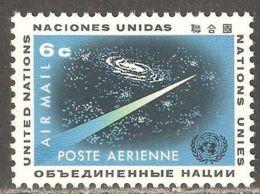 UN / New York 1963 Mi# 128 ** MNH - Outer Space - North  America
