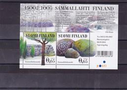 FINLANDE : Site De Tumulus De Sammallahti : Y&T : BF 35** - Blocs-feuillets