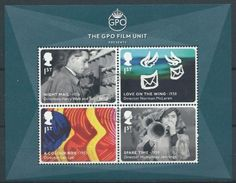 GROSSBRITANNIEN GRANDE BRETAGNE GB 2014 M/S GREAT BRITISH FILMS MNH SG MS3608 SC SH3294 MI B89-3607-10 YT F4013-16 - Blocs-feuillets