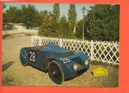 Automobile - Voiture - Chenard & Walcker - Musée De L'automobile 24 Heures Du Mans     (non écrite Et Non Oblitérée) - Cartes Postales