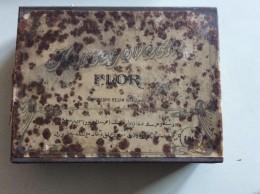 Tobacco (related) > Empty Tobacco Boxes BOX OF METAL TIN BOX HERCEGOVACKI  DUHAN FLOR USPOREDNO REZAN DIM.14 X 18cm - Boites à Tabac Vides