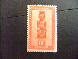 RUANDA - URUNDI 1948 ART RWANDAIS COB Nº 154 * MH - Ruanda