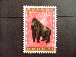 RUANDA - URUNDI 1959 FAUNA DIEREN COB Nº 205 º FU - Ruanda