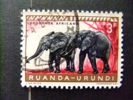 RUANDA - URUNDI 1959 FAUNA DIEREN COB Nº 212 º FU - Ruanda