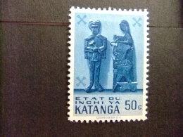 KATANGA 1961 KATANGESE KUNST ARTE ART COB Nº 54 * MH - Katanga