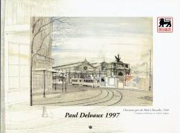 Calendrier 1997 Paul Delvaux Avec Reproductions D'oeuvres Du Peintre - Big : 1991-00