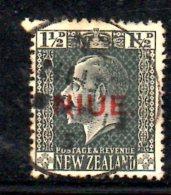 T548 - NIUE 1917, Gibbons N. 25 Usato (Yvert 14). - Niue