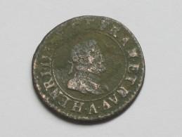 Double Tournois  à Identifier  HENRI IIII ? -1598 ? ***** EN ACHAT IMMEDIAT ***** - 1589-1610 Henri IV Le Vert-Galant