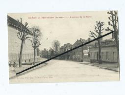 CPA Souple  -  Crecy En Ponthieu - Avenue De La Gare - Crecy En Ponthieu
