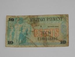 10 Ten Cents - Série 692 Military Payment Certificate 1970  *** EN ACHAT IMMEDIAT *** - Militaire Betaalcertificaten (1946-1973)