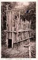 TRUDAUMOT (Vietnam), Honquan, Piège A Tigre Dans La Forèt, Tigerfalle, Fotokarte Nicht Gelaufen 1929 - Vietnam
