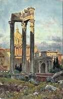 ROM, Ruinen Des Vespasian Tempels, Nicht Gelaufen - Ohne Zuordnung