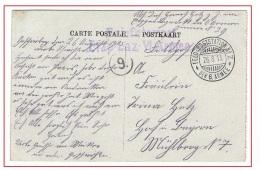 """Carte Briefstempel_6° Armée_Feldpost Station N°7_26/8/1915_Etap Laz_cachet """"9"""" Partie De France_recto Paris - Briefe U. Dokumente"""
