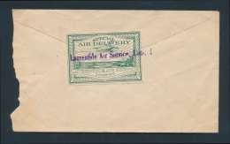 Canada #CL2 Cvr Cover To Huronian Belt Mining Co. In Haileybury With Laurentide Air Service 25c... - Airmail