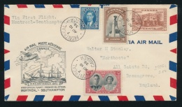 Cvr First Flight Cover Collection, 1928-1987, With Over 200 Flight Covers. Mostly Canada, But... - Airmail