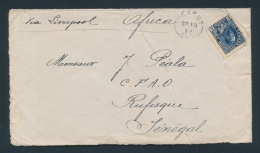 Canada #111 Cvr 1912 5c Blue Admiral Cover To Senegal, Mailed From Hearst Ont (SEP.18.1912) And... - Unclassified