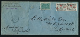 Canada #85, E1 Cvr 1899 Special Delivery Map Cover, Mailed Brantford Ont On FEB.15.1899 To... - 1851-1902 Reign Of Victoria