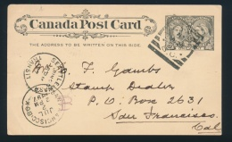 Canada #51-53 Cvr Group Of Seven Jubilee Covers And Cards, With 1c, 2c And 3c Frankings Plus Three... - 1851-1902 Reign Of Victoria