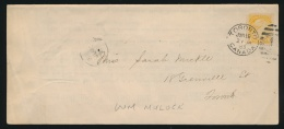 Canada #35 Cvr 1883 Toronto Drop Circular, Franked With A Single 1c Small Queen, Tied By A Neat... - 1851-1902 Reign Of Victoria