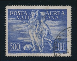 Vatican #C17 O 1948 500l Ultra Air Mail, Used With C.d.s. Cancel. Bit Soiled Around Edges, Else... - Vatican