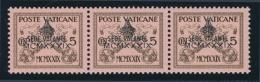 Vatican #61-67 ** 1933, 1939 5c To 75c Interregnum Sede Vacante Overprints, Set Of 7 Mint Never... - Vatican